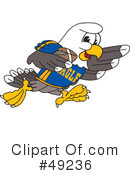 Bald Eagle Character Clipart #49236