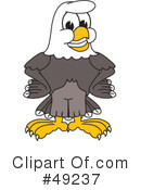 Bald Eagle Character Clipart #49237