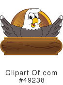 Bald Eagle Character Clipart #49238