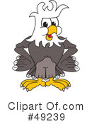 Bald Eagle Character Clipart #49239
