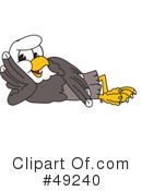 Bald Eagle Character Clipart #49240