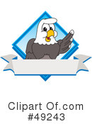 Bald Eagle Character Clipart #49243