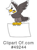 Bald Eagle Character Clipart #49244