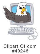 Bald Eagle Character Clipart #49246