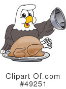 Bald Eagle Character Clipart #49251