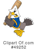 Bald Eagle Character Clipart #49252