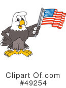 Bald Eagle Character Clipart #49254
