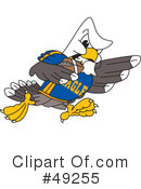 Bald Eagle Character Clipart #49255