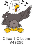 Bald Eagle Character Clipart #49256
