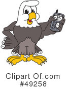 Bald Eagle Character Clipart #49258