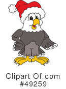 Bald Eagle Character Clipart #49259