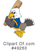 Bald Eagle Character Clipart #49260