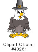Bald Eagle Character Clipart #49261