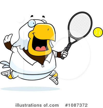 Tennis Clipart #1087372 by Cory Thoman