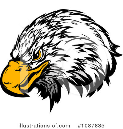 Eagle Clipart #1087835 by Chromaco