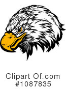 Bald Eagle Clipart #1087835 by Chromaco