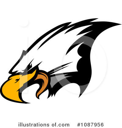 Bald Eagle Clipart #1087956 by Chromaco
