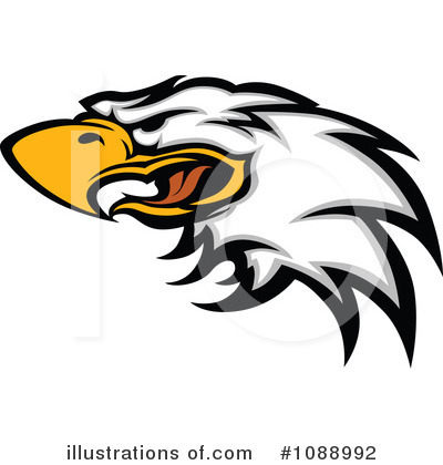 Bald Eagle Clipart #1088992 by Chromaco
