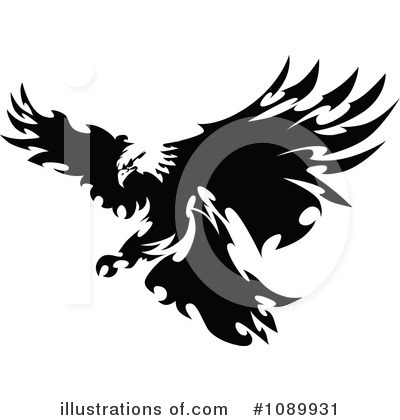 Eagle Clipart #1089931 by Chromaco