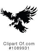 Royalty-Free (RF) Bald Eagle Clipart Illustration #1089931