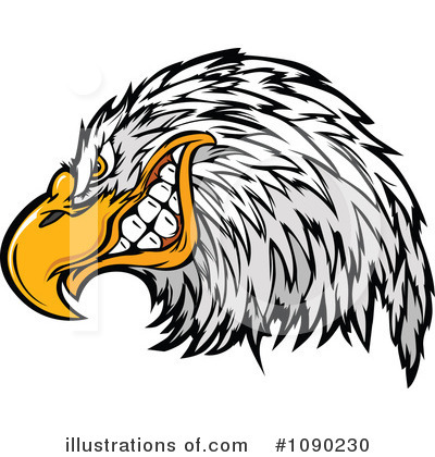Bald Eagle Clipart #1090230 by Chromaco