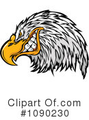 Royalty-Free (RF) Bald Eagle Clipart Illustration #1090230