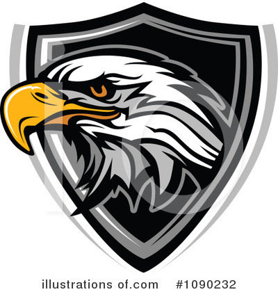 Eagle Clipart #1090232 by Chromaco