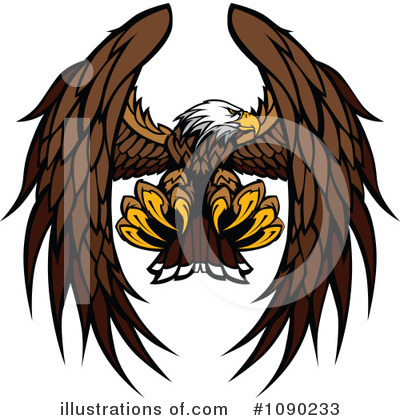 Eagle Clipart #1090233 by Chromaco