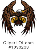Royalty-Free (RF) Bald Eagle Clipart Illustration #1090233