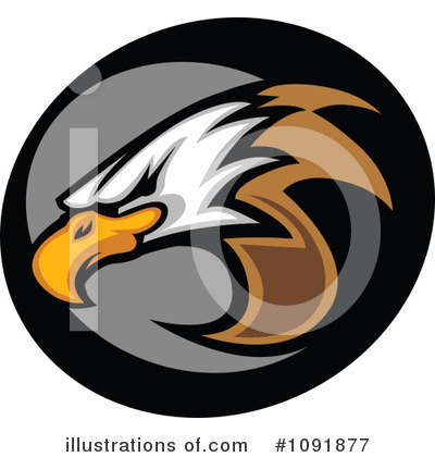 Eagle Clipart #1091877 by Chromaco