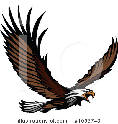 Eagle Clipart #1095743 by Chromaco