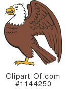 Royalty-Free (RF) Bald Eagle Clipart Illustration #1144250