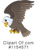 Royalty-Free (RF) Bald Eagle Clipart Illustration #1154571