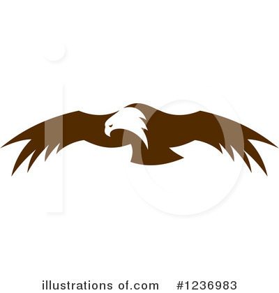 Eagle Clipart #1236983 by Vector Tradition SM