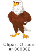 Bald Eagle Clipart #1300302 by Pushkin