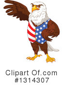 Bald Eagle Clipart #1314307 by Pushkin