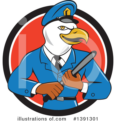 Police Clipart #1391301 by patrimonio