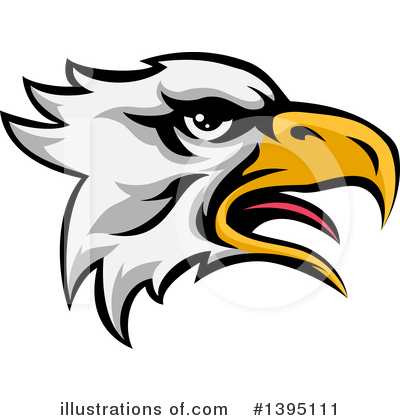 Eagle Clipart #1395111 by AtStockIllustration