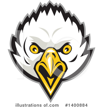 Bald Eagle Clipart #1400884 by patrimonio
