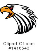 Bald Eagle Clipart #1416543 by Vector Tradition SM