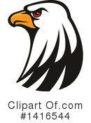 Bald Eagle Clipart #1416544 by Vector Tradition SM
