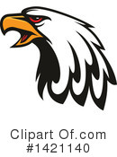 Bald Eagle Clipart #1421140 by Vector Tradition SM