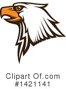 Bald Eagle Clipart #1421141 by Vector Tradition SM