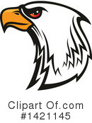 Bald Eagle Clipart #1421145 by Vector Tradition SM