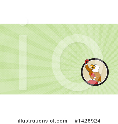 Business Card Design Clipart #1426924 by patrimonio