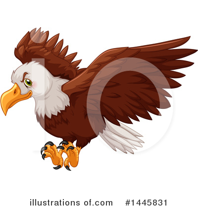 Eagle Clipart #1445831 by Graphics RF