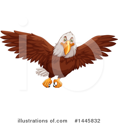 Bald Eagle Clipart #1445832 by Graphics RF