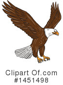 Bald Eagle Clipart #1451498 by patrimonio