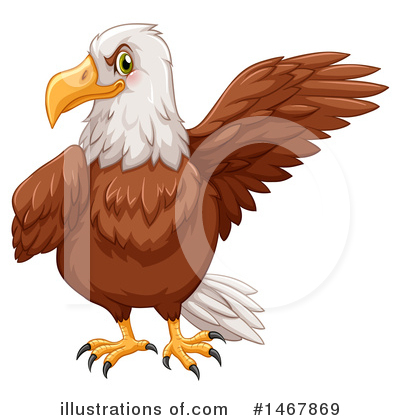 Bald Eagle Clipart #1467869 by Graphics RF