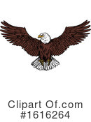 Bald Eagle Clipart #1616264 by Vector Tradition SM